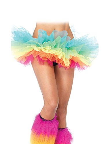 d6747dee1d Colorful rainbow, Girls could wear it to dance, play, party. Material:Tulle,  Satin. Stylish, soft and includes a thumb hole A great accessory to keep  your ...