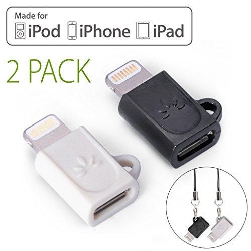 AmazonBasics Micro USB to Lightning Adapter Apple Certified