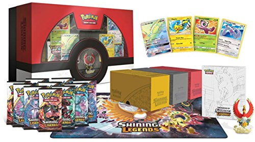 This collection brings together a treasure trove of collectoru0027s items from the heights of Pokémon history plus a huge swath of Pokémon TCG Shining Legends ...  sc 1 st  PlayGamesly & Pokemon TCG: Shining Legends Super Premium Ho-Oh Collection Box ... Aboutintivar.Com