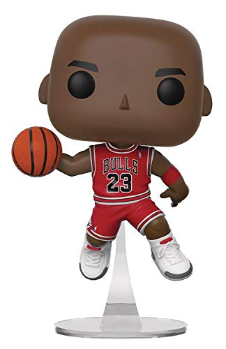 2631ff407 The most recognizable basketball player in the world just needs a  comfortable shelf to rest his weary feet! This NBA Bulls Michael Jordan Pop!  Vinyl ...