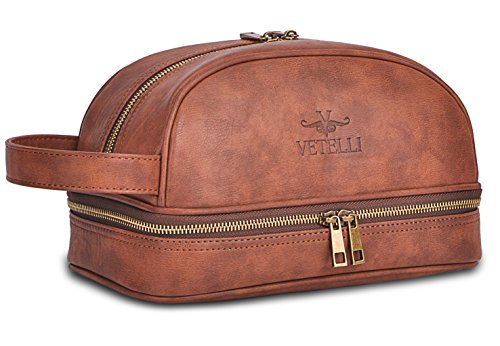 100% satisfaction guarantee Lifetime Warranty This toiletry bag is backed  up by a 100% lifetime guarantee. Vetelli take pride in top quality products  ... 32d4f28cc7ccf
