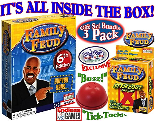Family Feud Trivia Box Card Game – PlayGamesly