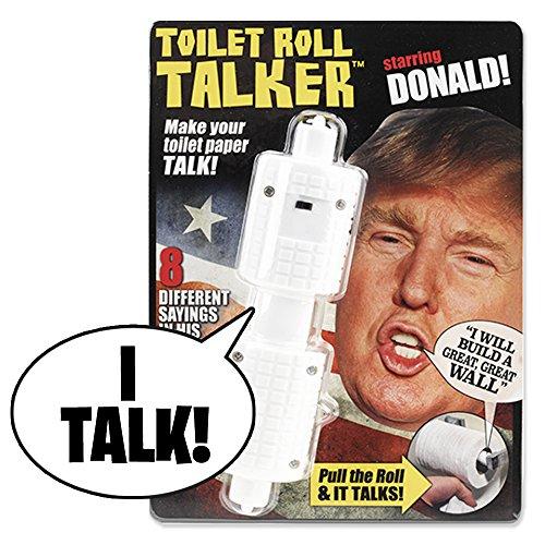 Fairly Odd Novelties Donald Trump Political Humor Funny Toilet Paper ...