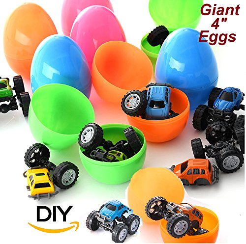 Great Addition To Party Favor Bags Holiday Gifts School Classroom Rewards Grab And Home Prize Box Super Value With 12 Easter Eggs Prefilled