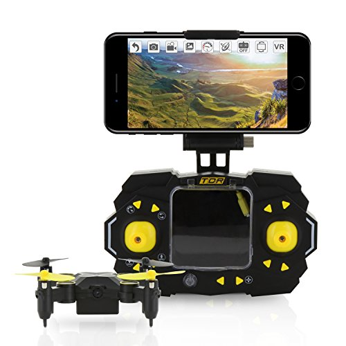 Tenergy TDR Sky Beetle Mini RC Drone with Camera Live Video, 2 4GHz