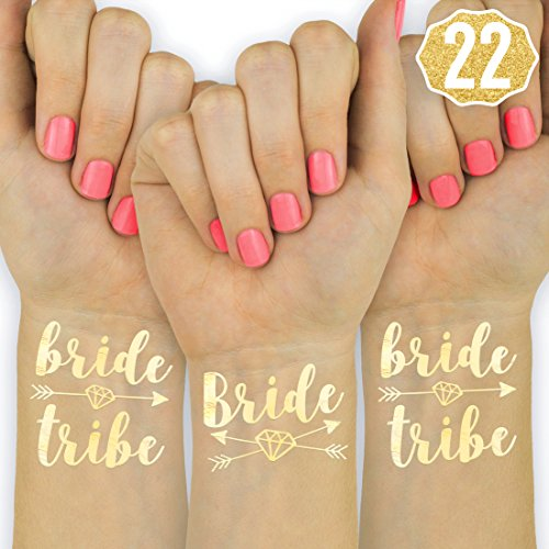 Make the bride to be happy on her special day or night with the ultimate bachelorette party flash tattoos! Your best friend is getting married and we have ...