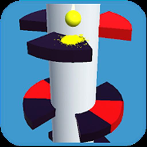 Spiral Helix Jump Ball – PlayGamesly