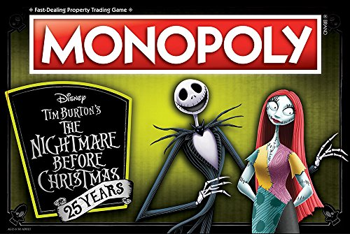 USAopoly Nightmare Before Christmas Board Game – PlayGamesly