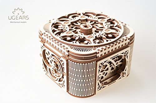 ROBTOIME 3d Assembly Puzzles Wooden Mechanical Gears Decor