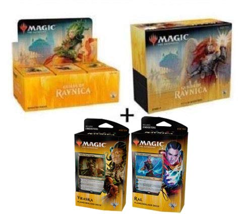 Magic: the Gathering MTG Guilds of Ravnica Guild Kit All 5 Decks