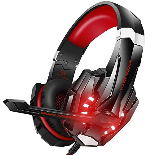 BENGOO Stereo Gaming Headset for PS4, PC, Xbox One Controller, Noise