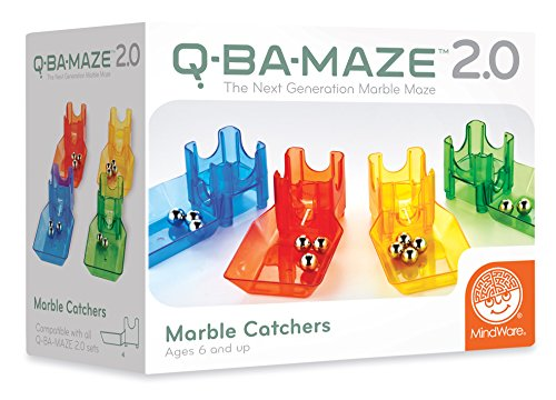 Mindware Q Ba Maze Bag Of 20 Marbles Playgamesly