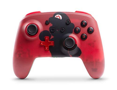 Nintendo Switch – Mario Silhouette – PowerA Enhanced Wireless