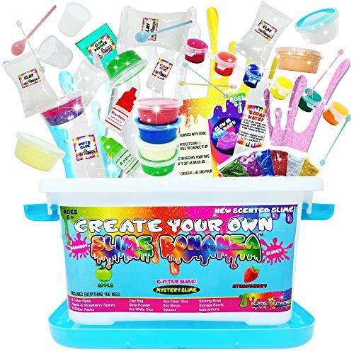Slime Bonanza Slime kit for Girls and Boys 36pcs DIY Slime